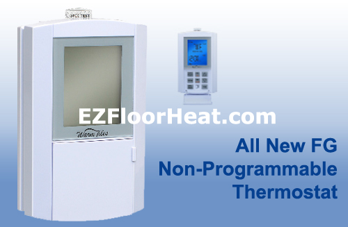 FG Dual Voltage 120/240 Vac Non-Programmable Thermostat