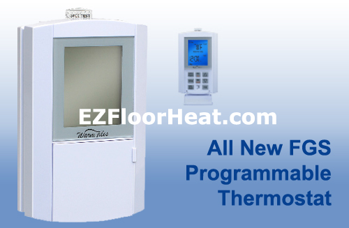 FGS Dual Voltage 120/240 Vac Programmable Thermostat